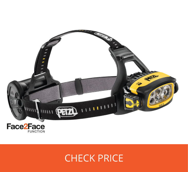 Petzl DUO S - Best Caving Headlamp