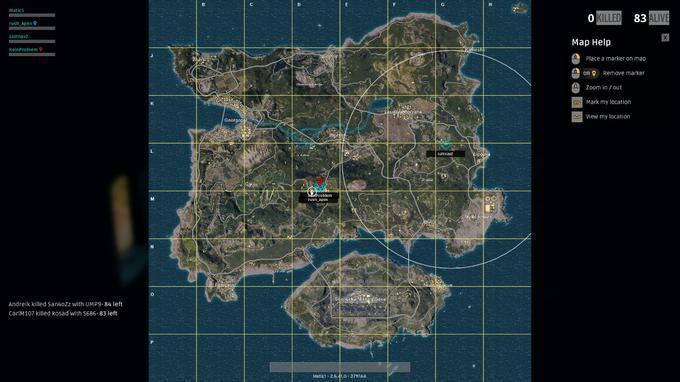 PUBG - Map