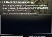 Baldur's Gate 3 Crash on startup