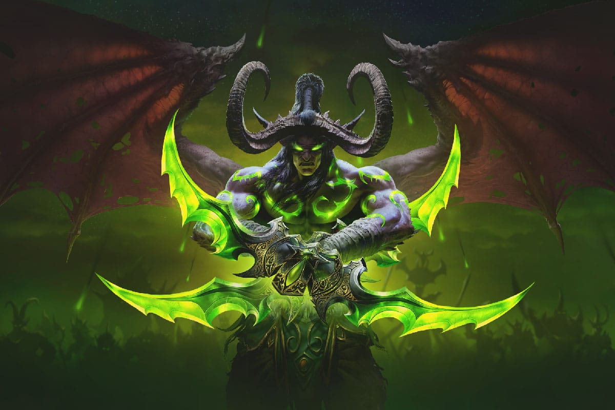 Illidan Stormrage WoW Classic Burning Crusade